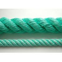 Cheap 4mm-16mm Colorful 3-Strand twist PP PE Rope delivery on time and high quality for sale