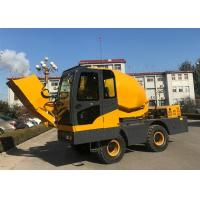 Quality Small Volumetric Electric Self Loading Concrete Mixer With 270° Discharge Angle wholesale