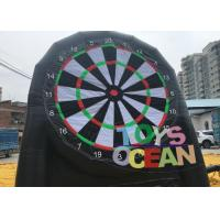 Buy cheap Double Sided Inflatable Football Sticky Darts Velcro Soccer Dart Inflatable Goal Post from wholesalers