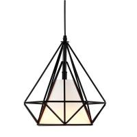China Industrial Style Vintage Pendant Lamps Metal Cage Ceiling Light For Home Decoration on sale