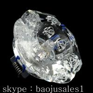 China Round mirror crystal spotlight with MR16 halogen lampholder on sale