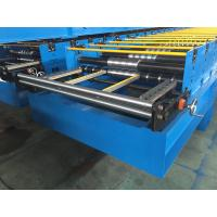 Buy cheap GI / PPGI Roof Panel Roll Forming Machine Wall Board Structure For Roofing Sheet product