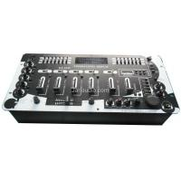 Quality 1 Channel Music Power DJ Mixer Console With Record , Single / Circle Play wholesale