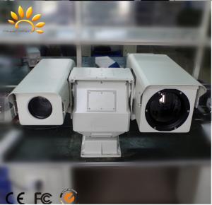 China Dual Sensor Long Range Thermal Imaging Camera / Military Grade Infrared Security Camera on sale