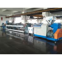 China Blue Color Plastic Strap Making Machine Pp Strap Production Line 50-80kg/Hr Capacity on sale