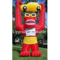 Quality custom 20ft inflatable gorilla with car and blower for advertising and promotions wholesale
