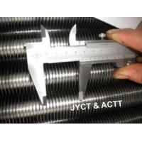 Quality Wrapped L Footed Fin Tube Steel Pipe , Seamless Tension Wound Finned Tubes wholesale