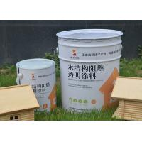 Quality 15mins 0.3mm Water Based Fire Retardant Paint For Exterior Wood Timber Environmental Osb wholesale