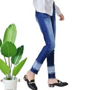 Quality Vintage Straight Women Denim Skinny Jeans Full Length Spandex / Cotton wholesale