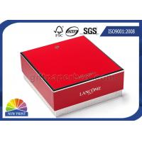China Two Piece Rigid Gift Box Packaging , Full Color Printing Square Paper Rigid box on sale