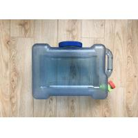 Quality Outdoor Drinking Water Storage Containers Camping Water Storage Bucket Clear wholesale