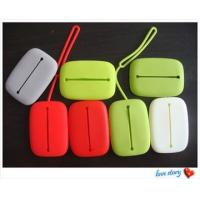 Quality silicone wallet,fashion lady silicone wallet wholesale