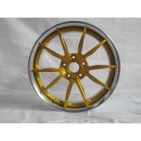China BFL25/3 piece forged wheels for maserati/Anodized Gold wheels/The design for MHT niche on sale