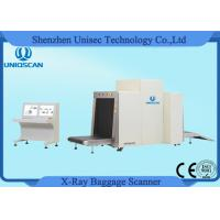 Quality Dual View X-ray Baggage Inspection System X-Ray Baggage Scanners 800*650mm Tunnel wholesale