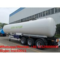 Quality Factory sale best price CLW brand 20tons propane gas tank semitrailer for sale, HOT SALE! 49.6m3 lpg gas tank trailer wholesale