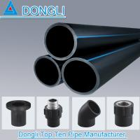 China PN 0.6-1.6Mpa HDPE Reinforced Polyethylene water pipe HDPE pipe prices on sale