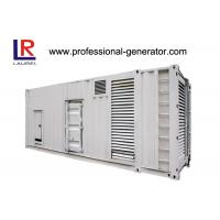 Buy cheap CE Soundproof 1000kVA Diesel Container Generator Set with Electrical Starting AC 3 Phase product