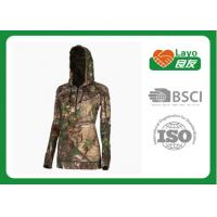 Quality Thermal Mossy Oak Camo Hooded Sweatshirt For Winter / Spring / Fall wholesale
