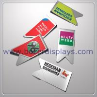 Metal Paper Clip, Comes in Standard Styles with Printed Logo for sale