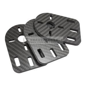 Quality High Precision Carbon Fiber Plate CNC Cutting Parts wholesale
