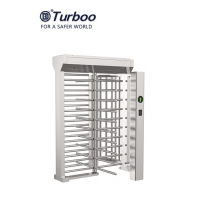Quality RFID Facial Barcode Recognition Full Height Turnstile / SUS304 Full Height Gate 24V wholesale