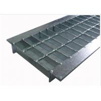 Quality Anti Slip Outdoor Drain Grate Covers , Serrated Steel Trench Covers Grates wholesale