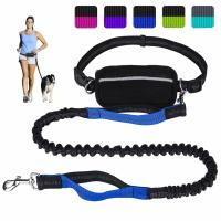 Quality Flexible Long Extendable Dog Lead Comfortable Hands Free With Dual Handles wholesale