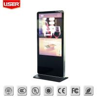 Quality 32 Inch LCD Floor Standing Digital Signage 1920*1080 Max Resolution wholesale