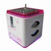 China ABS Cube Shape Mobile Phone Mini Speaker with 3W x 2 Power Output on sale