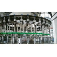 Industrial 3 In 1 Automatic Liquid Bottle Filling Machine For PET Bottles 1000bph - 24000bph