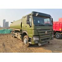 Quality 15CBM Fuel Oil Tanker Truck 336HP For Army Use , Fuel Oil Delivery Trucks wholesale