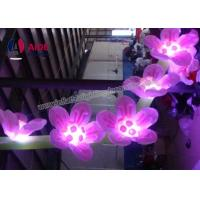 Quality Custom Made Inflatables LED Flowering Lights , Blow Up Hanging Ceiling Decoration wholesale