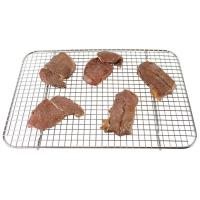 China 304 316 SS Wire Mesh Baking Tray Custom Size With Electrolytic Polishing Surface on sale