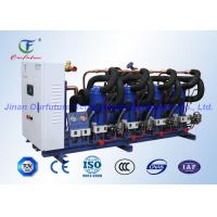 China Cold Room Compressor Rack Unit Danfoss Hermetic Scroll Type on sale