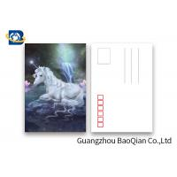 Quality Souvenir Gift 3D Lenticular Card With Customized Logo / Lenticular Photo Printing Postcard wholesale