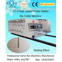 Quality High Speed Printing Slotting Die-Cutter Auto Carton Packing Machine 6mm Thickness wholesale