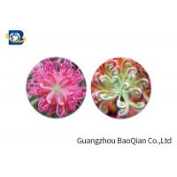China Home Decoration 3D Lenticular Coasters Cup Placemat Beautiful Flower Pattern on sale