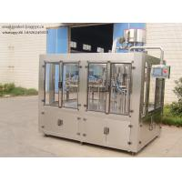 Quality 330-2000ML Carbonated Drink Filling Machine , Bottle Washing Filling Capping Plant wholesale