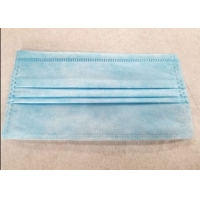 Quality One Time Disposable 3 Ply Civilian Non Woven Fabric Earloop Mask wholesale