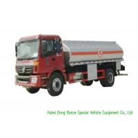 Quality FOTON 4X2 Fuel Delivery Tankers With PTO Pump 12000L High Capacity wholesale