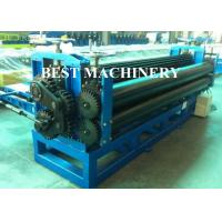 Quality 0.15mm Steel Horizontal Roofing Corrugated Sheet Roll Forming Machine Hydraulic Type wholesale