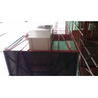 Quality VFD SC200D construction building hoist , passenger and material lifting hoist with rack and mast wholesale