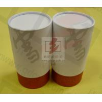 Quality Wine Storage Paper Tube Packaging Cylinder Paper Box With Ribbon wholesale