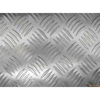 Quality Decorative flooring / table / tank 3003 Checkered Aluminum Sheets Mill Finished Surface wholesale