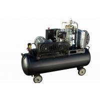 China 5.5kw 7hp Tank mounted electric mini Screw type air compressors compressor without cabinet on sale