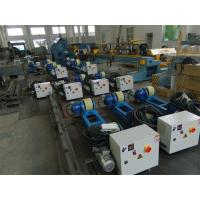 Quality 2T Capacity Bolt Adjustment Pipe Welding Rollers with Polyurethane Rollers Gear Reducer wholesale