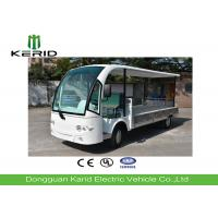 China 72V DC Motor Electric Cargo Van Full Roof / 2 Seat Utility Vehicle on sale