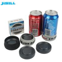 Quality Portable Round Custom Gel Can Cooler Holder with Environment HDPE Materials wholesale