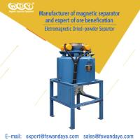 Quality Dry Magnetic Separator Machine For Micro Iron Powder / Magnetic Substance wholesale