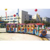Quality Residential Area Kids Ride Along Train And Track / Sit On Train Set Anti UV wholesale
